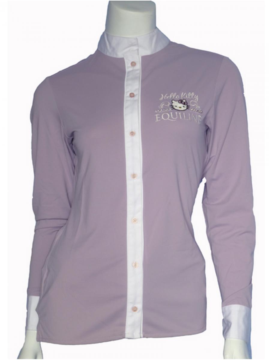 online retailer 221c7 7fe82 Camicia Concorso Donna Hello Kitty EQUILINE